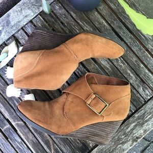 Lucky Brand Sumarah Ankle Boot Wedge 7